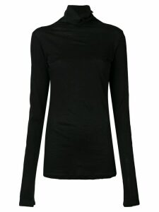 UNRAVEL PROJECT mock neck sweater - Black