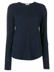 6397 round neck jumper - Blue