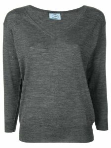 Prada V-neck sweater - Grey