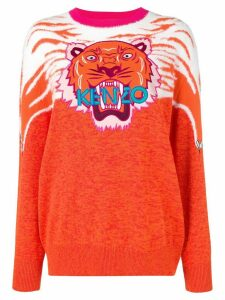 Kenzo Perched Tiger sweater - ORANGE