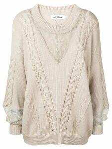 Almaz cable knit jumper - NEUTRALS