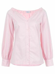 Isolda Paeonia gathered details top - PINK