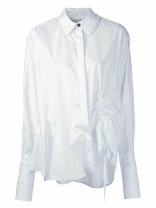 Preen By Thornton Bregazzi drawstring detail shirt - White