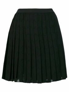 Versace Jeans Couture short pleated skirt - Black