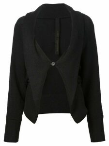Forme D'expression one button cardigan - Black