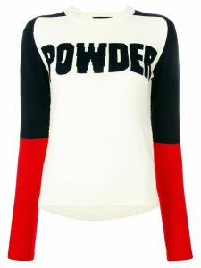 Perfect Moment Powder jumper - White