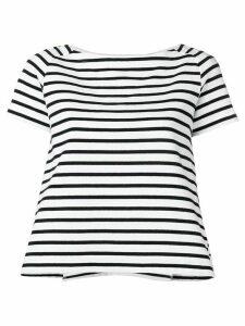 Sacai striped T-shirt - White