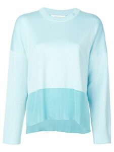 Cédric Charlier dropped shoulder jumper - Blue