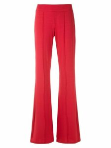 Lygia & Nanny Pelican wide-leg trousers - Red