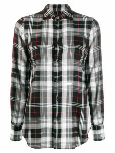 Dsquared2 classic check shirt - Black
