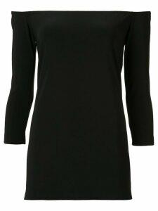 Norma Kamali off-the-shoulder blouse - Black