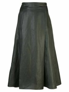 Partow mid-length skirt - Green