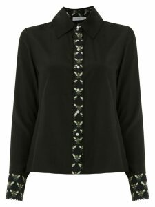Isolda silk Lolô shirt - Black