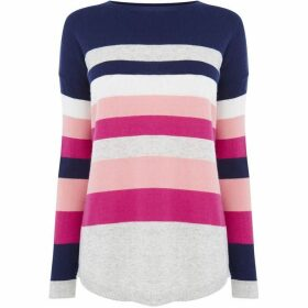 Oasis Cosy Colourblock Bridgette Knit