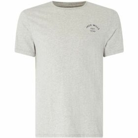 Jack Wills Short Sleeved Clayesmoore Graphic T-Shirt
