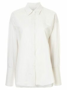 Lee Mathews Riley stripe shirt - Grey