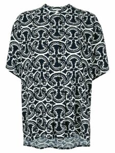 Jil Sander floral print blouse - Blue