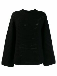 Theory ribbed knit jumper - Black