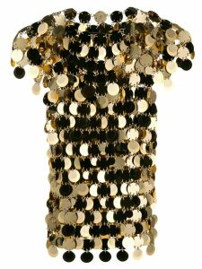 Paco Rabanne maxi sequins top - GOLD