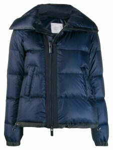 Sacai puffer jacket - Blue