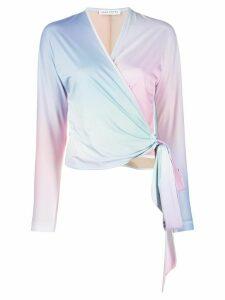 Saks Potts cloud dye blouse - Blue