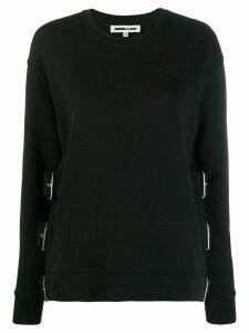 McQ Alexander McQueen buckle strap jumper - Black