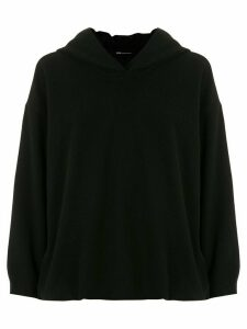 Uma Raquel Davidowicz Chaska wool zip-up hoodie - Black