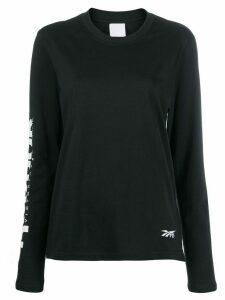 Reebok x Victoria Beckham printed jersey T-shirt - Black