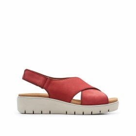 Un Karely Sun Leather Sandals