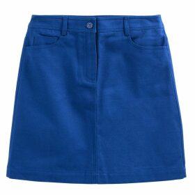 Short Straight 5-Pocket Skirt