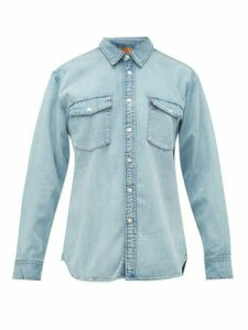 Wardrobe. nyc - X Levi's Release 04 Patch-pocket Denim Shirt - Womens - Indigo