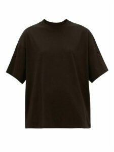 ATM - Oversized Cotton-jersey T-shirt - Womens - Black
