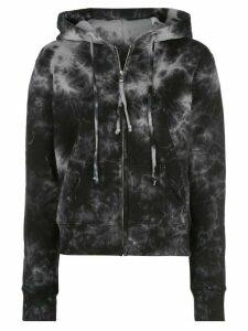 Nili Lotan Callie tie-dye print hoodie - Black