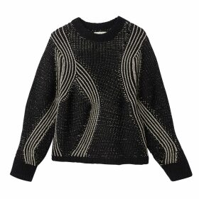 Crew Neck Chunky Knit Jumper