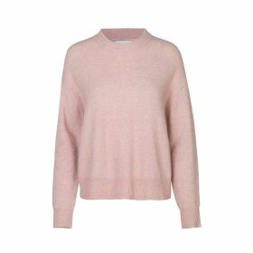 Wool Mix Crew-Neck Jumper
