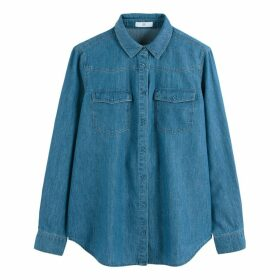 Straight Denim Shirt