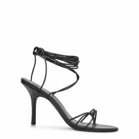 Ille De Cocos Linen Gauze Stripe Sweater - Sage- White