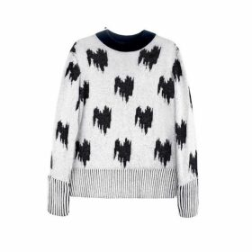 Jamie Wei Huang Jacquard Cashmere Jumper Grey