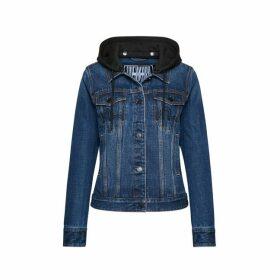 Evisu Initial And Seagull Embroidery Denim Jacket
