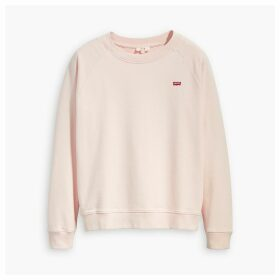 Crew-Neck Logo Sweatshirt in Cotton