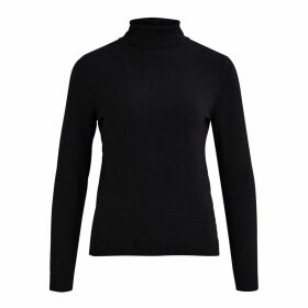 Fine Knit Jumper with Roll Neck
