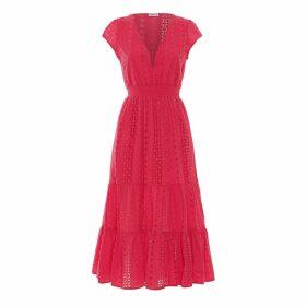 Paolita Tulip Ruffle Midi Dress