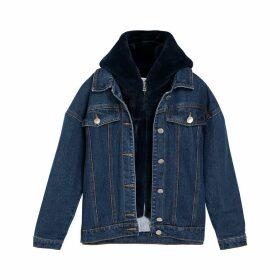 DEAN Denim Jacket with Integrated Hood