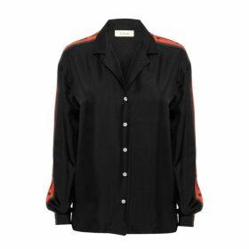 Lisou Machi Machi Black Silk Shirt