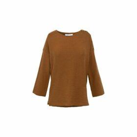 Gerard Darel Wool-blend Stanley Square-cut Sweater