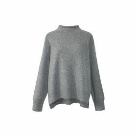 Gerard Darel Cashmere Funnel Neck Siane Sweater