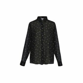 Gerard Darel Maya Shirt With Moons And Stars In Lurex
