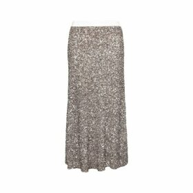 Gerard Darel Long Teissa Skirt With Sequins
