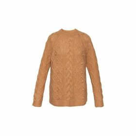 Gerard Darel Cable Knit Sun Sweater