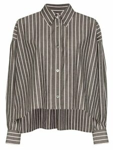 Isabel Marant Macao striped boxy-fit shirt - Grey